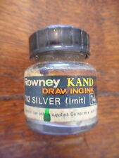 Rowney Drawing Kandahar Indian Ink 14ml Silver Permanent