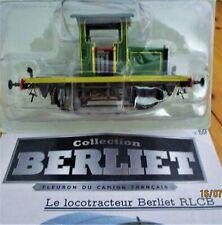HACHETTE CAMIONS BERLIET 1/43 N°59 Le Locotracteur Berliet RLCB neuf+ fascicule