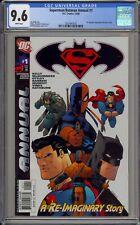 SUPERMAN/BATMAN #1 - CGC 9.6 - RI IMAGINES SUPERMAN #76 - 2021447023
