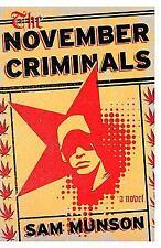 The November Criminals: A novel-ExLibrary