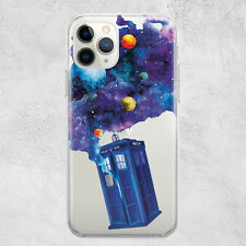 Doctor Dr Who Tardis Phone Case iPhone 11 Pro X Xr Xs Max 8 7 6 6s Plus SE Cover