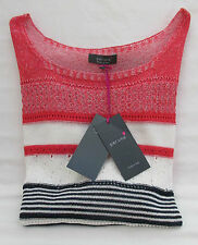 Women's Thin Knit Viscose Scoop Neck 3/4 Sleeve Jumpers & Cardigans