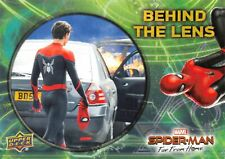 Spider-Man Far From Home Movie BEHIND THE LENS Trading Card Insert BTL-10