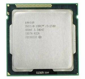 Intel Core i5-2500 CPU Quad Core 3.3 GHz 6M SR00T