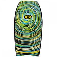 """Osprey 41"""" Body Board / Boogie Board with Leash Green Cyclone"""