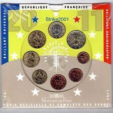 Euro FRANCIA 2011 in Folder Ufficiale