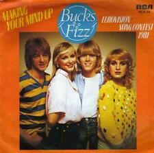 "7 "" PS record 45 SINGLE - BUCKS FIZZ MAKING YOUR MIND UP  EUROVISION 81  HOLLAND"