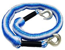 3 Ton Elasticated Car Tow Towing Rope Expanding Recovery Break Down 4m TB-FAI6
