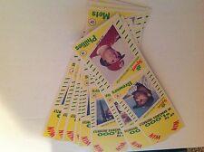 1982 TOPPS SQUIRT PANEL SET-ROSE,TRAMMELL,SCHMIDT,BRETT,REGGIE,RICE,WINFIELD
