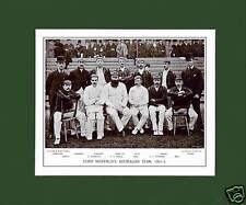 MOUNTED CRICKET TEAM PRINT - LORD SHEFFIELD'S - 1891-2