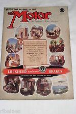 The Motor Magazine WW2 Issue 1942 December 2nd: Mille Miglia 1934/1896 Paris-Mar