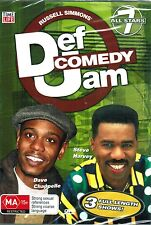 Russell Simmons Def Comedy Jam All Stars 7 ,NEW DVD Dave Chappelle,Steve Harvey