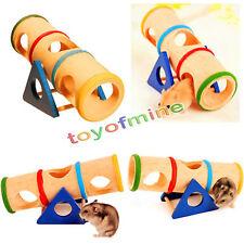 Balançoire à bascule en bois nain hamster colorée drôle safe rainbow exercice