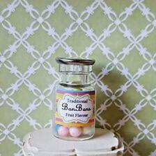 Pot ou bonbons traditionnels bonbons verre Shop Miniature 1:12th Scale Maison de poupées