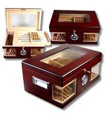 Wood Wonderful Kristallglas Humidor V-1320, statt: 165,00 €
