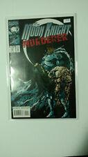 MARVEL COMICS 59 MOON KNIGHT MURDERER High Comic Book K4-98
