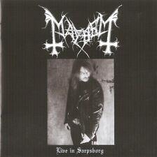 Mayhem - Live In Sarpsborg CD + DVD - SEALED 2019 Import Black Metal Album DEAD