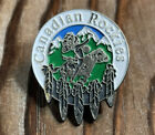 Canadian Rockies lapel pin badge vintage enamel collector souvenir Native Horse