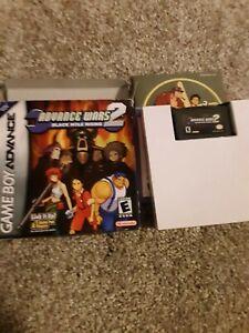 Advance Wars 2: Black Hole Rising (Nintendo Game Boy Advance, 2003) WITH BOX