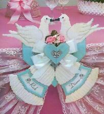 ANNIVERSARY BELLS WEDDING DOVES PLASTIC CANVAS PATTERN INSTRUCTIONS
