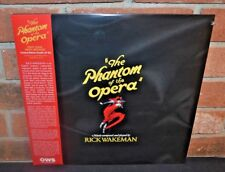 THE PHANTOM OF THE OPERA - Soundtrack Rick Wakeman, Ltd 2LP RED VINYL Gatefold