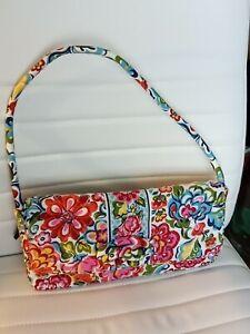 "Vera Bradley Handbag ""Knot Just a Clutch"" Hope Garden Bag Retired"
