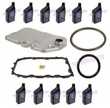 Porsche 955 Cayenne Auto Trans Filter Oil Pan Gasket + Seal + 11 Quarts Fluid