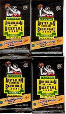 1993 Futera Australia Basketball Cards NBL LOOSE PACKS (30 PACKS)--RARE!!