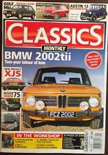 Classics Monthly BMW 2002tii Two Year Labour Of Love Jul 2015 FREE SHIPPING