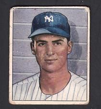 Jerry Coleman 1950 Bowman Baseball Card #47 NY Yankees GOOD
