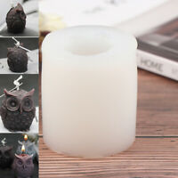 3D Owl Candle Silicone Making DIY Handmade Resin Molds Animal Plaster Wax Mou YK