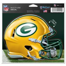"""Green Bay Packers Wincraft NFL Helmet 4.5"""" x 5.75"""" Multi Use Decal FREE SHIP!"""