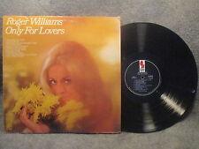 33 RPM LP Record Roger Williams Only For Lovers Kapp KS-3565