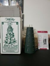 """New 10"""" Apple Cone Colonial Williamsburg Tree Base for Fresh Fruit Centerpiece"""