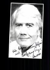 Wolfgang Arps Autogrammkarte Original Signiert # BC G 23363