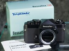 Voigtlander Bessaflex TM Black 35mm M42 SLR body XLNT condition