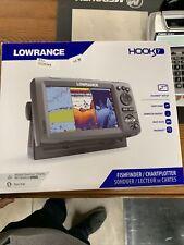 Lowrance Hook 7 Fishfinder/Charplotter Downscan/Gps 12664-001