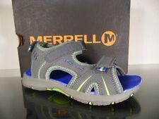Merrell Panthère Sandale en Gris/Bleu pour Garçon Taille 1 Mc 53337