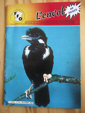 L'ENVOL  n°43 Ornithologie. 12/2001. Cacatoès alba. Diamant à tête rouge Nouméa