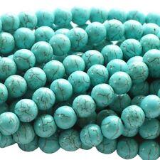 43 HALBEDELSTEIN Perlen Howlith RUND ca 9,5mm pink nenad-design E153 ca