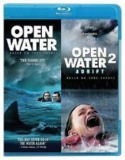 Blu Ray OPEN WATER and OPEN WATER 2 ADRIFT. UK compatible. New sealed.