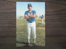 1986 Tcma New York Mets Davey Johnson Postcard