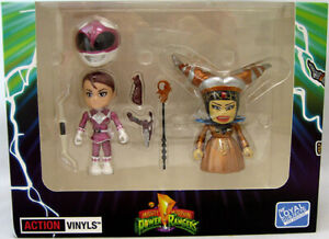 Mighty Morpin Power Rangers Metallic Series Exclusive Pink Ranger vs Rita SDCC