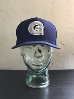 Georgetown Hoyas New Era Basic 59FIFTY Fitted Hat - Navy