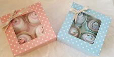 Nappy Cake Cupcake Socks Gift Box - Girl & Boy / Baby Gift / Baby Shower / Socks