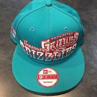 Vancouver Grizzlies 9Fifty New Era NBA Snapback Hat Hardwood Classics Basket