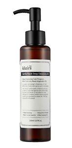 Klairs Gentle Black Deep Cleansing Oil 150 mL vegan - Korean face cleanser