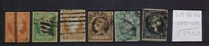! Spain  1855-1862. Lot Of 6 Stamp. YT#. €49.50 !