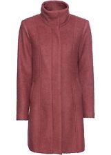 Bouclé-Kurzmantel Gr. 46 Pink Damenmanel Kurz-Mantel Jacke Coat Anorak Neu*