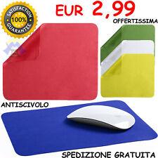 TAPPETINO per MOUSE Anti Scivolo MOUSE PAD Laptop LISCIO Ergonomico PC Tappeto